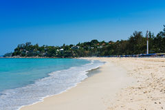 Beach and sea Stock Image