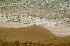 Beach sea ebb tide Royalty Free Stock Photo