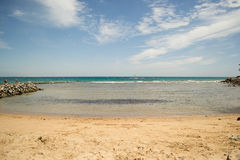 Beach sea idyllic Royalty Free Stock Image
