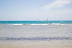 Beach sea idyllic Royalty Free Stock Photos