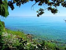 Beach, sea, island, water, ocean, tree, landscape, sky, summer, tropical, nature, coast, travel, sand, vacation, beautiful,. Beach, sea, island, water, ocean royalty free stock photo