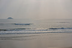 Beach sea in morning. Royalty Free Stock Images