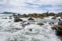 Beach sea Patong , Puket Stock Image