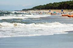 The beach by the sea Stock Photos