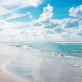 Beach. sea relaxation landscape Royalty Free Stock Images