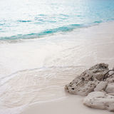 Beach. sea relaxation landscape Stock Images