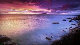 Beach, Sea, Rock Stock Image