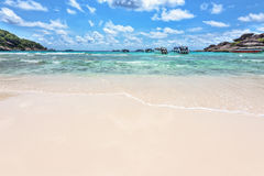 Beach and sea of Similan Islands in Thailand Stock Photos