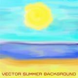 Beach, sea and sun Stock Photography