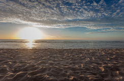 Beach. The sea to the beach in the morning Royalty Free Stock Images