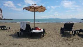 Beach, Sea, Vacation, Shore stock image