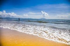 Beach  sea  wave  landscape Stock Images