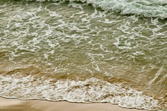 Beach sea waves Royalty Free Stock Photos