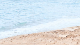 Beach by seashore Stock Photos