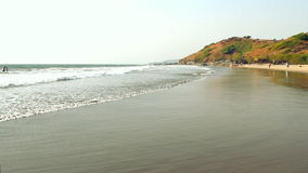 Beach Seaside view. Beach Seaside view at sunny day stock video footage