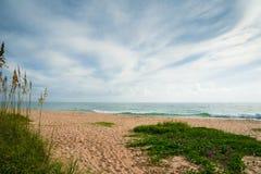 Beach at Sebastian Inlet Stock Photography