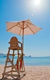 Beach security chair Royalty Free Stock Photos