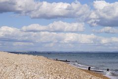 Beach at Selsey. West Sussex. England Royalty Free Stock Photos
