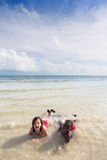Beach Series - Diversity Stock Photos