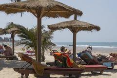 Beach in Serrekunda Stock Images