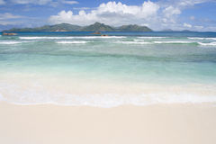 A beach on the Seychelles Stock Images