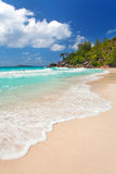 Beach on seychelles Royalty Free Stock Photos