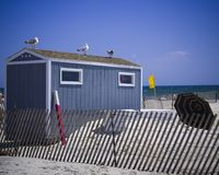 Beach Shack Stock Photos