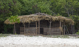 Beach shack Royalty Free Stock Photography