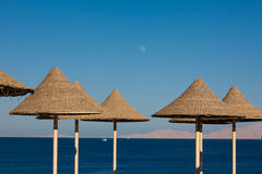 Beach in Sharm al-Sheikh Royalty Free Stock Photography