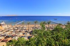 Beach in Sharm El Sheikh Royalty Free Stock Photo