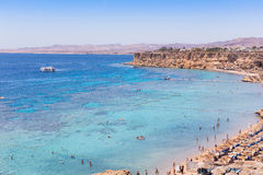 Beach Sharm El Sheikh Royalty Free Stock Photography