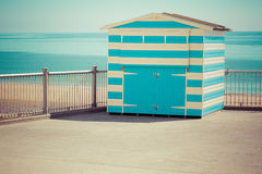 Beach shed Royalty Free Stock Photos