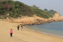 The beach of Shek O Stock Image