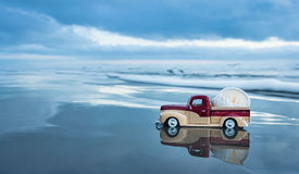 Beach Shell Truck Stock Images