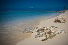 Palancar Beach. The beautiful Palancar Beach on Cozumel island on the Caribbean Sea Royalty Free Stock Photography