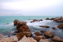 Beach of shenzhen. This is the beach of shenzhen XiChong stock images
