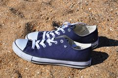 Beach Shoes Royalty Free Stock Images