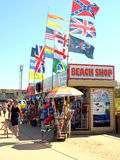 Beach shop, Ingoldmells, Skegness. Stock Image