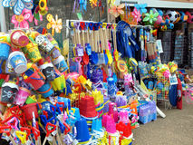Beach shop, Skegness, Lincolnshire. Royalty Free Stock Image