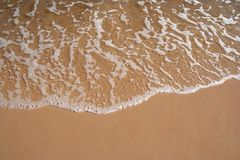 Beach shoreline Royalty Free Stock Photography