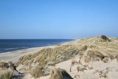 Beach, shoreline. Beach/shoreline near Hanstholm nature reserve in Denmark Stock Images