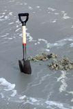 Beach shovel Stock Photo