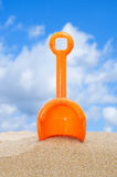 Beach shovel Stock Photos