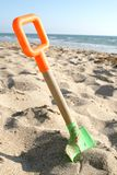 Beach shovel Royalty Free Stock Photography