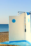 Beach shower Stock Images