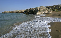 Beach in Sicily Royalty Free Stock Photography