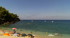 Beach sicily Royalty Free Stock Photo