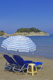 Beach Sidari, Corfu island Royalty Free Stock Photo
