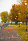 Beach side. Beachside of Rochester, New York State,in autumn/indian summer Stock Photos