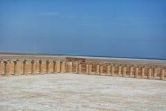 Beach side Al  uqair Saudi Arabia. Beach side Corniche in Al Uqair Saudi Arabia Stock Images